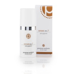 premium aesthetic Serum No.7 anti-pigment