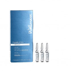 hyaluron + calcium skin optimizer concentrate, 7 x 2 ml