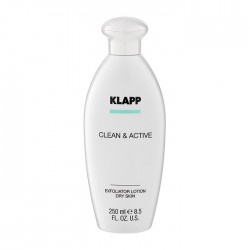 CLEAN & ACTIVE Exfoliator Lotion Dry Skin