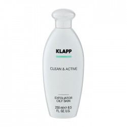 CLEAN & ACTIVE Exfoliator Lotion Oily Skin