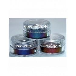 FlipFlop Pigment Red-blue