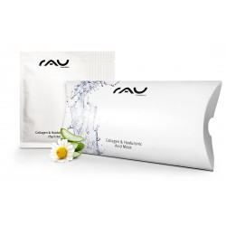 RAU Cosmetics Collagen & Hyaluronic Acid Mask Vliesmaske - 10er Pack