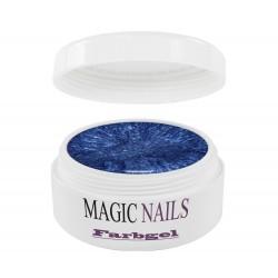 Magic Nails Farbgel blau-metallic