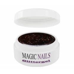 Magic Items Glittergel braun-11