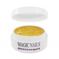 Magic Items Glittergel gelb-40