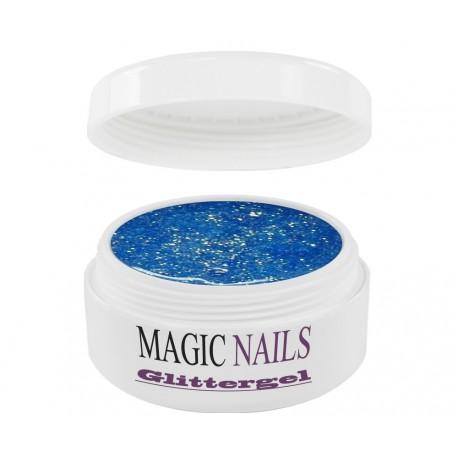 Magic Items Glittergel himmelblau-06