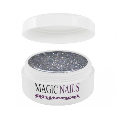 Magic Items Glittergel holo-silber-31
