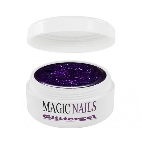 Magic Items Glittergel purple-24