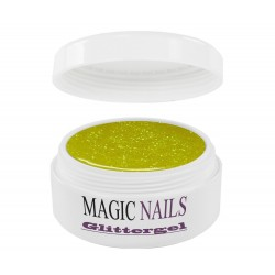 Magic Items Glittergel zitronen-gelb-08