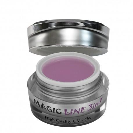 Magic Items line allround pink 3in1 elastic dick uv gel