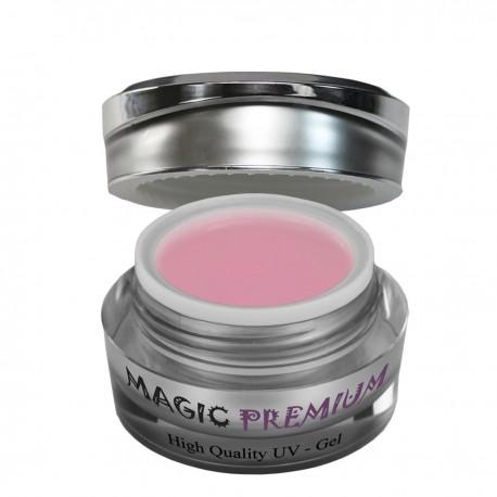 Magic Items premium aufbau uv - gel rosa milchig