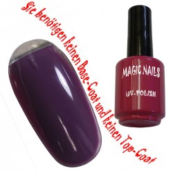 UV Polish Gel Soak Off Gel  Berry Purple