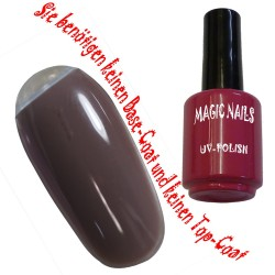 UV Polish Gel Soak Off Gel  Chocolatta