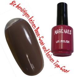 UV Polish Gel Soak Off Gel  Espresso