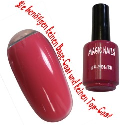 UV Polish Gel Soak Off Gel  Flamingo