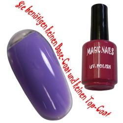 UV Polish Gel Soak Off Gel  French-Lilac