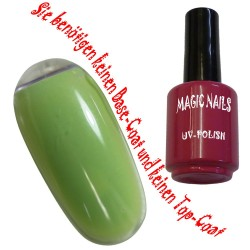 UV Polish Gel Soak Off Gel  Fresh-Green