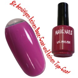 UV Polish Gel Soak Off Gel  Hot Kiss