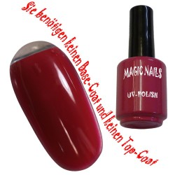 UV Polish Gel Soak Off Gel  Lipstick Red