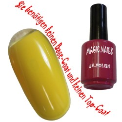 UV Polish Gel Soak Off Gel  Mellow-Yellow
