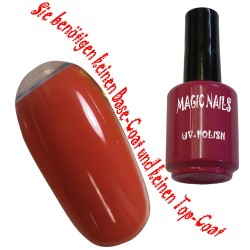 UV Polish Gel Soak Off Gel  Orange-Crush