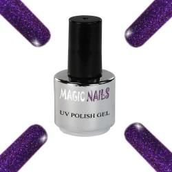 UV Polish Gel Soak Off Gel  Purple Passion