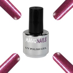 UV Polish Gel Soak Off Gel  Raspberry