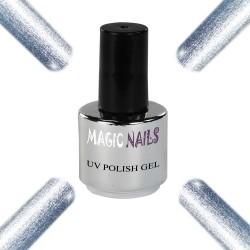 UV Polish Gel Soak Off Gel  Silver Moon