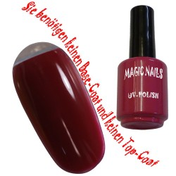 UV Polish Gel Soak Off Gel  True Red