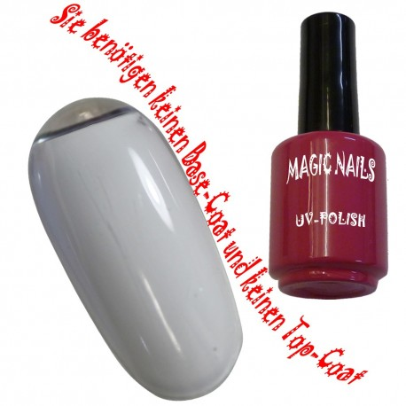 UV Polish Gel Soak Off Gel  White-Satin