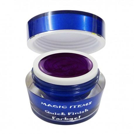 Supreme glossy Farbgel dark purple 5ml