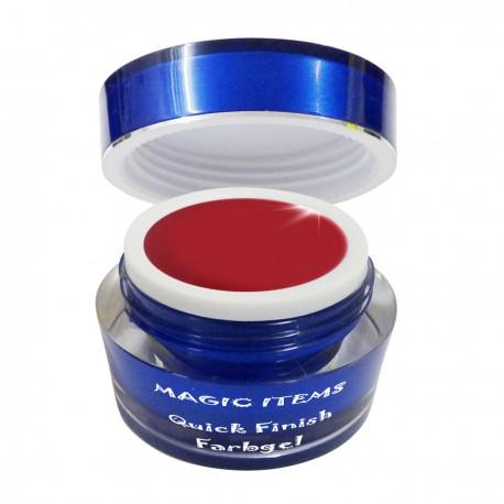 Supreme glossy Farbgel zinnober red 5ml