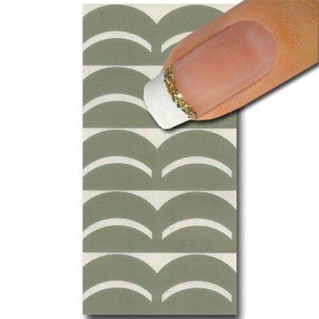 Smart Nails Nagellack Schablone 01