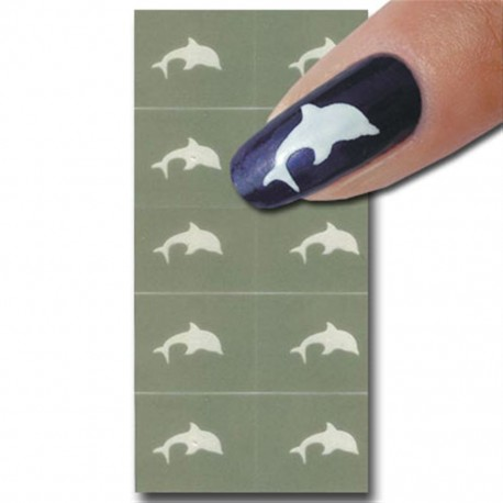 Smart Nails Nagellack Schablone 03