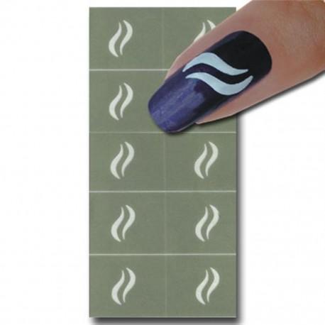 Smart Nails Nagellack Schablone 07