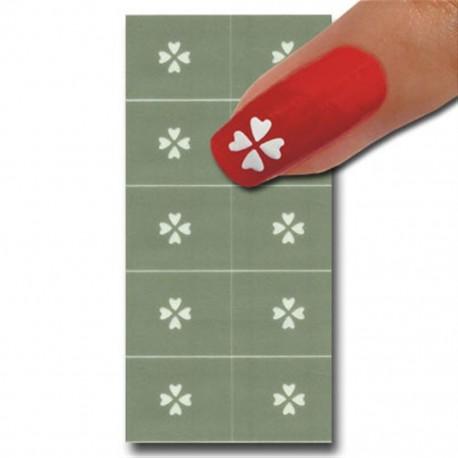 Smart Nails Nagellack Schablone 08