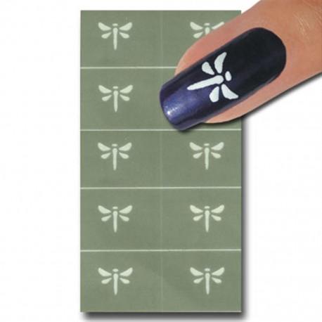 Smart Nails Nagellack Schablone 09