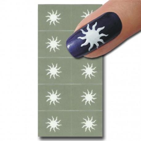 Smart Nails Nagellack Schablone 10