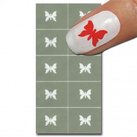 Smart Nails Nagellack Schablone 12