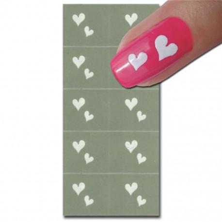 Smart Nails Nagellack Schablone 16
