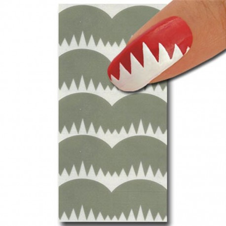 Smart Nails Nagellack Schablone 17