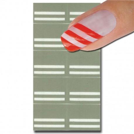 Smart Nails Nagellack Schablone 18