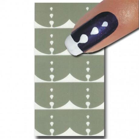 Smart Nails Nagellack Schablone 20