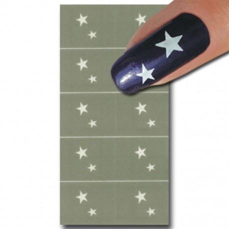 Smart Nails Nagellack Schablone 22