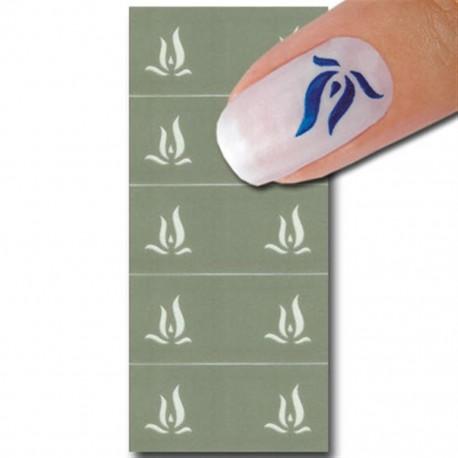 Smart Nails Nagellack Schablone 24