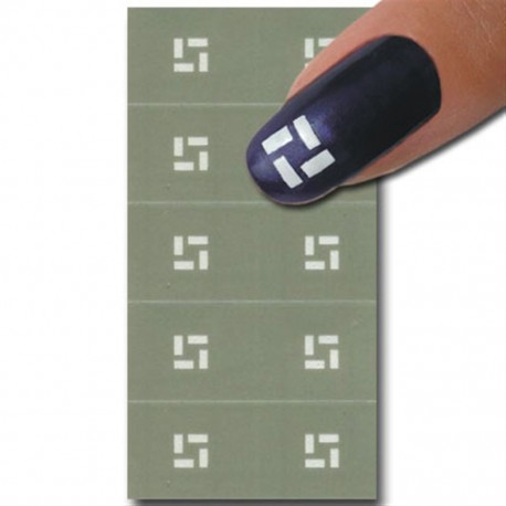 Smart Nails Nagellack Schablone 25