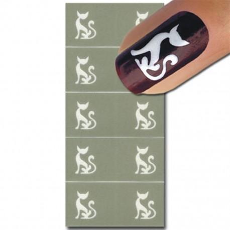 Smart Nails Nagellack Schablone 28