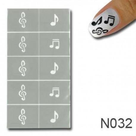 Smart Nails Nagellack Schablone 32