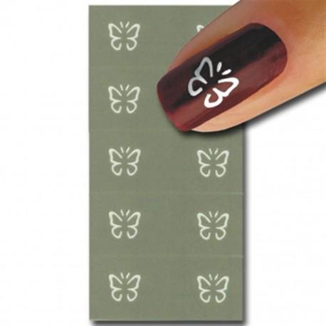 Smart Nails Nagellack Schablone 34