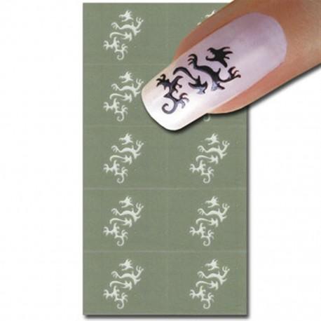 Smart Nails Nagellack Schablone 43
